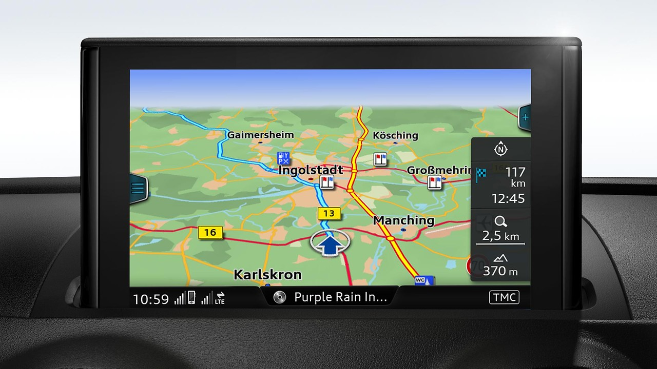 MMI Navigation plus с MMI touch