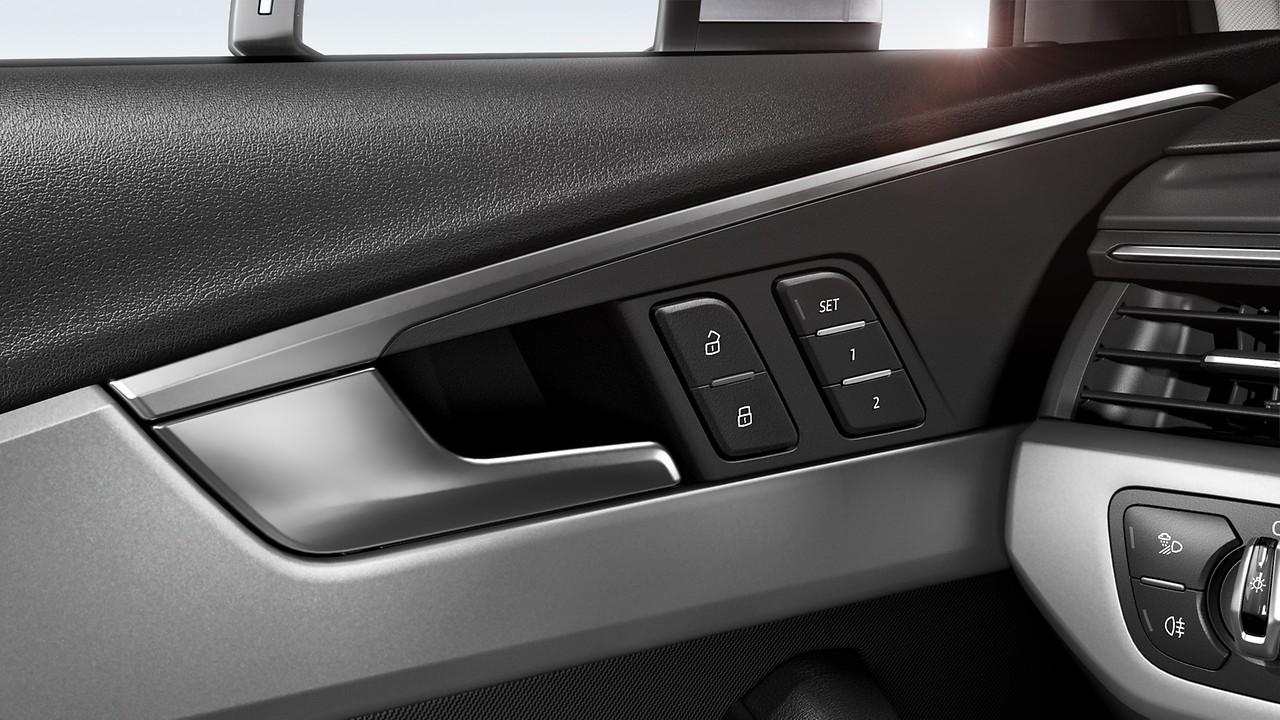 Электрическая регулировка передних сидений с функцией запоминания параметров сидения водителя
