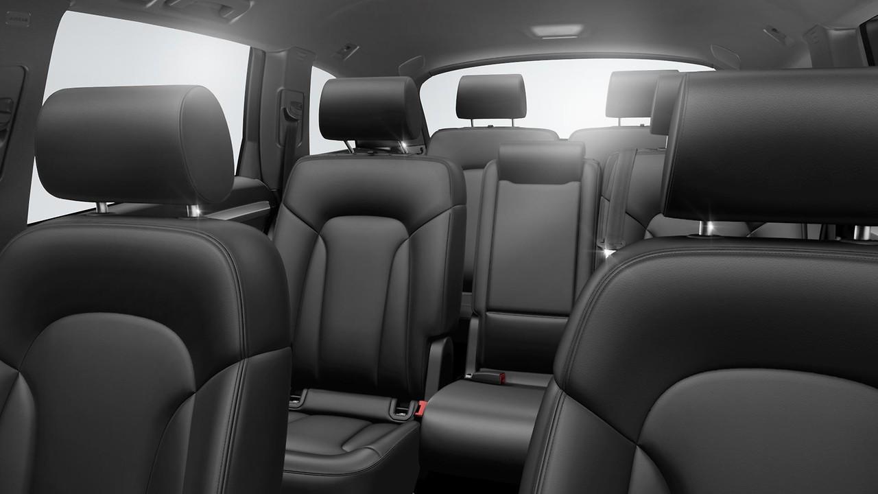 Продольная регулировка второго ряда сидений, возможность механической регулировки второго ряда сидений в диапазоне до 80 мм вперед и до 20 мм назад
