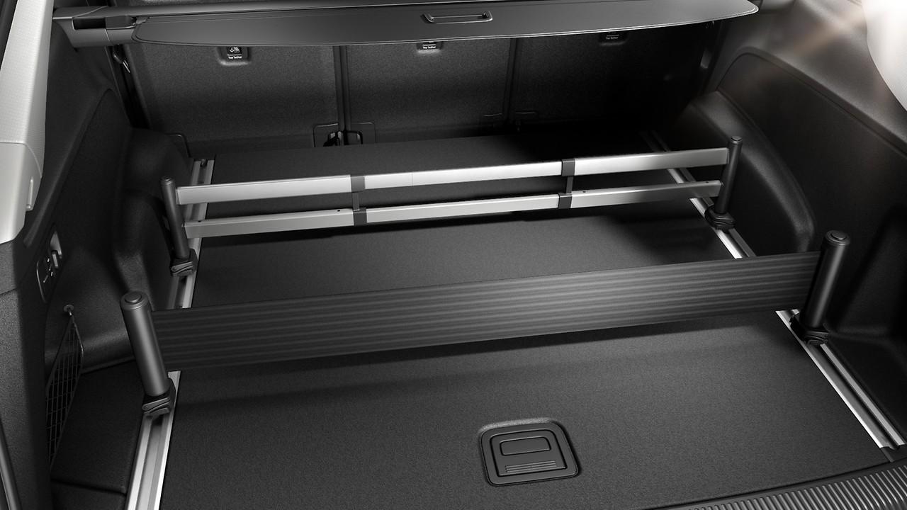 Устройство для размещения и крепления багажа телескопическая штанга и ремни