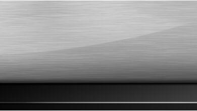 Декоративные планки Aluminium, c продольной шлифовкой и акцентными вставками Глянцевый Черный