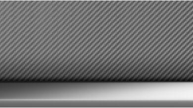Декоративные планки Aluminium Carbon Dark, акцентные вставки Жемчужный Хром
