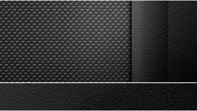 Обивка салона ткань/кожа Plectoid Антрацит | Черный
