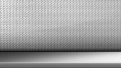 Декоративные планки | Алюминий 'Hexagon' | Матовые акцентные вставки синего цвета