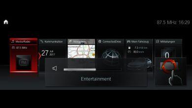 Система управления жестами BMW