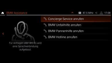 Сервисы BMW ConnectedDrive