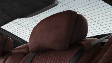 Комфортные задние сиденья, электрорегулируемые
