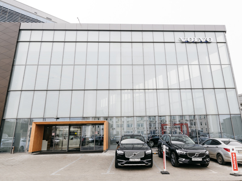 Inchcape Volvo Центр