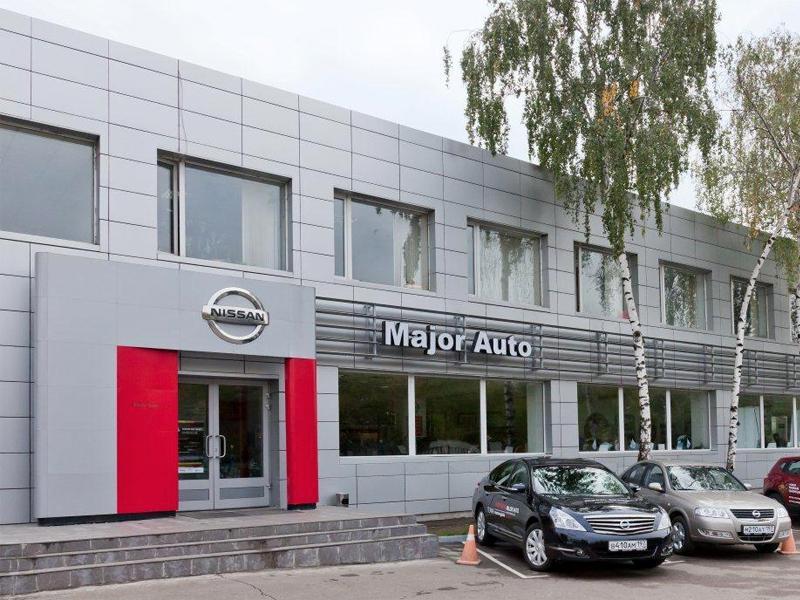 Major Auto Волоколамское шоссе Nissan