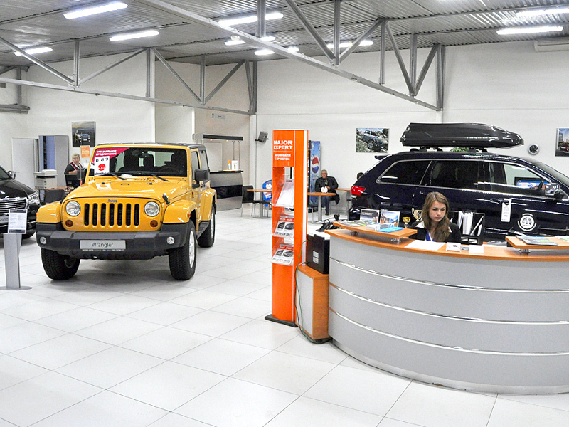 Мэйджор Авто Цветочный Jeep