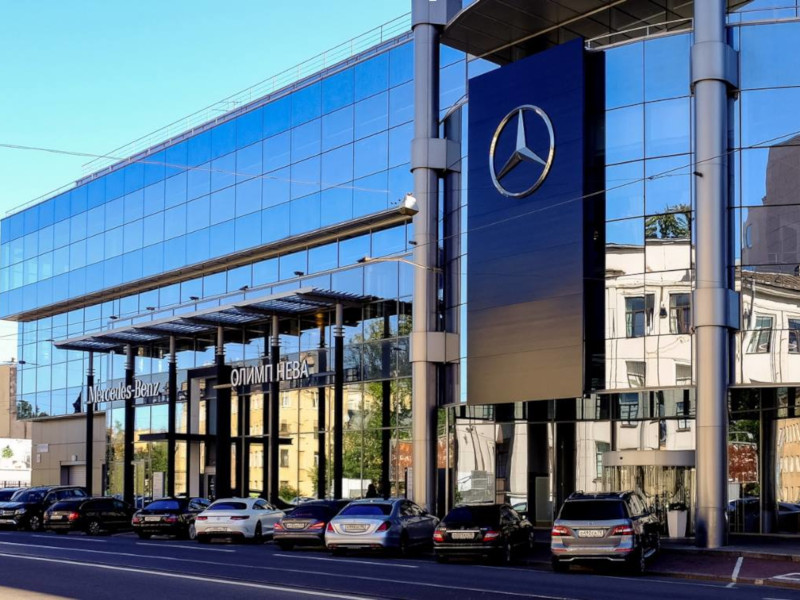 Олимп Нева MAJOR Mercedes-Benz
