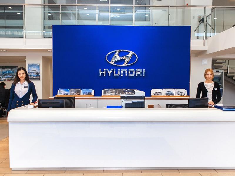 Восток-Авто Бухарестская Hyundai