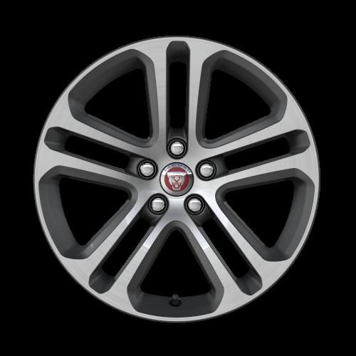 18-дюймовые 5-спицевые колесные диски Style 5029 с отделкой Diamond Turned