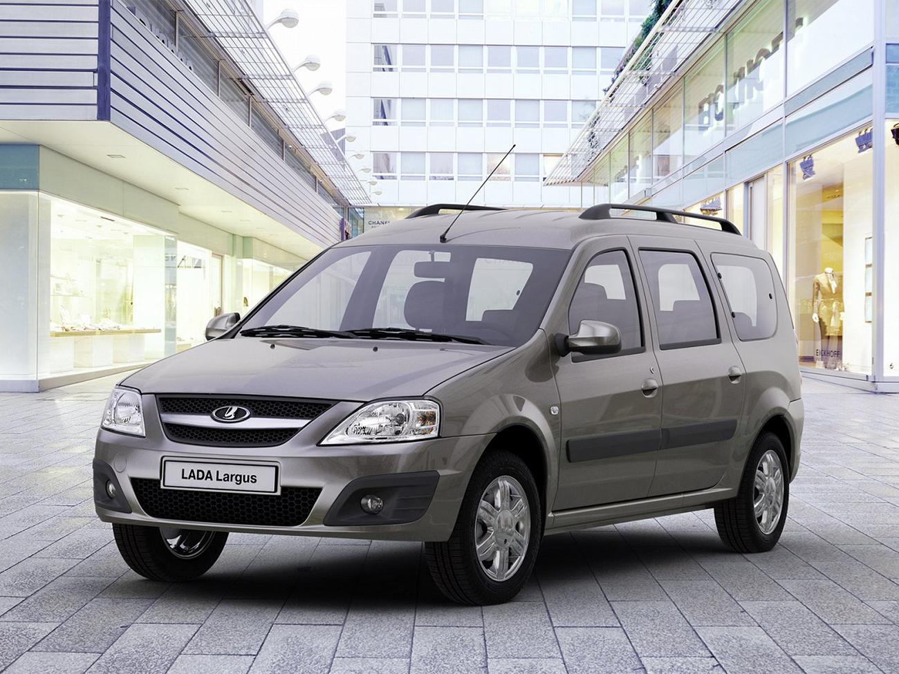 LADA Largus фургон CNG  – Технические характеристики –  Официальный сайт LADA