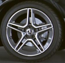 """Легкосплавные колесные диски 18"""", AMG 5 спиц"""