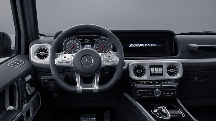 Рулевое колесо AMG Performance с отделкой из кожи наппа / микроволокна DINAMICA