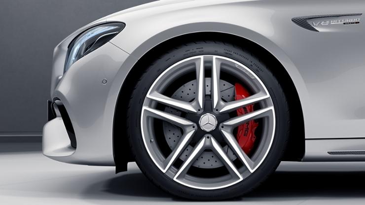Расширенные колесные арки для AMG дисков
