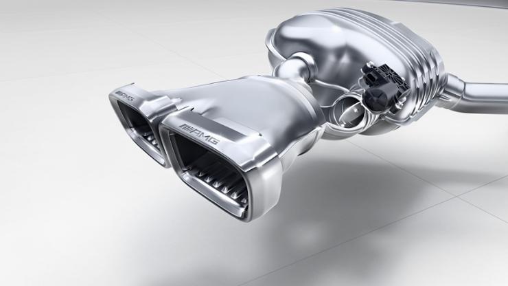 Регулируемая система выхлопа AMG Performance