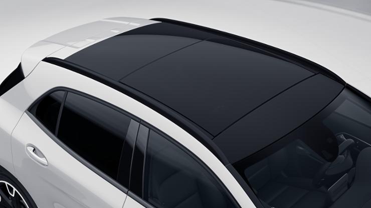 Релинги на крыше из алюминия, окрашенные в черный