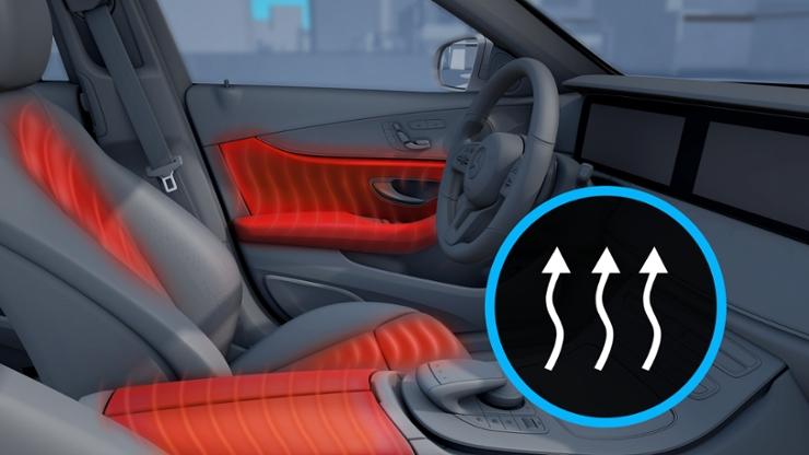 Комфорт-пакет обогрева для водителя, переднего и задних пассажиров