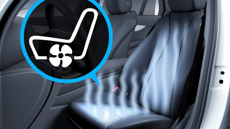 Подогрев и вентиляция передних сидений
