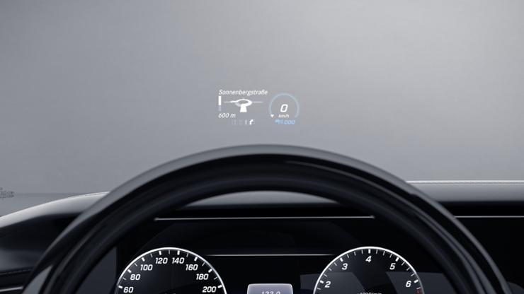 Head-up дисплей (проекционный дисплей)