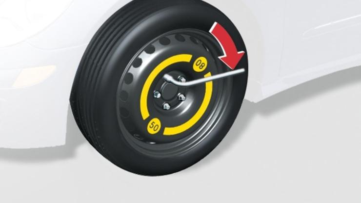 Аварийное запасное колесо (докатка)