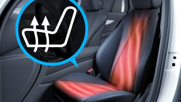 Система обогрева сидений водителя и переднего пассажира