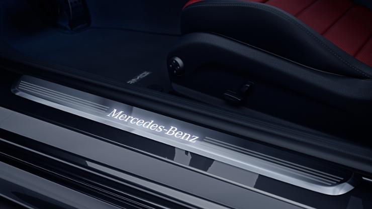 Велюровые коврики AMG, 4 шт.