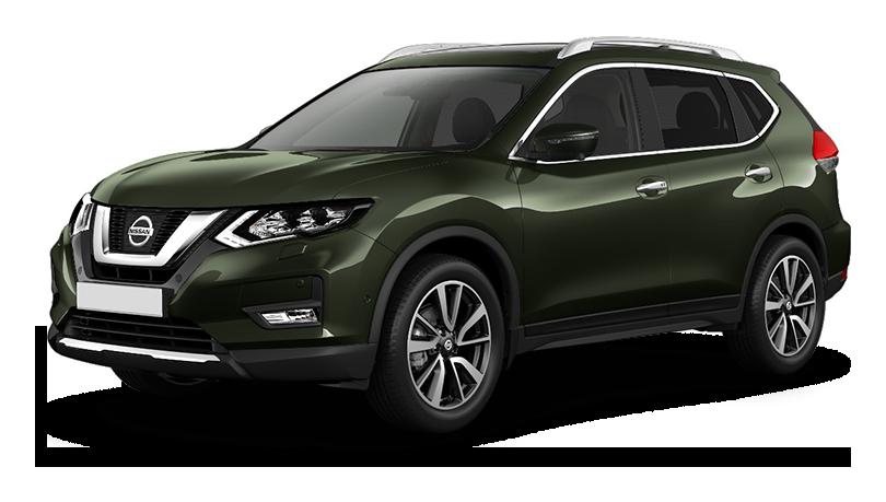 Nissan X-Trail внедорожник