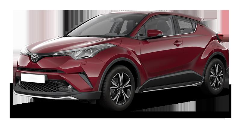 Toyota C-HR внедорожник
