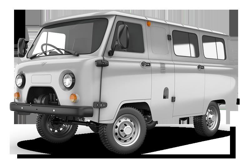 UAZ 3741 (остеклённый фургон)  2.7 MT Остекленный фургон 2 места