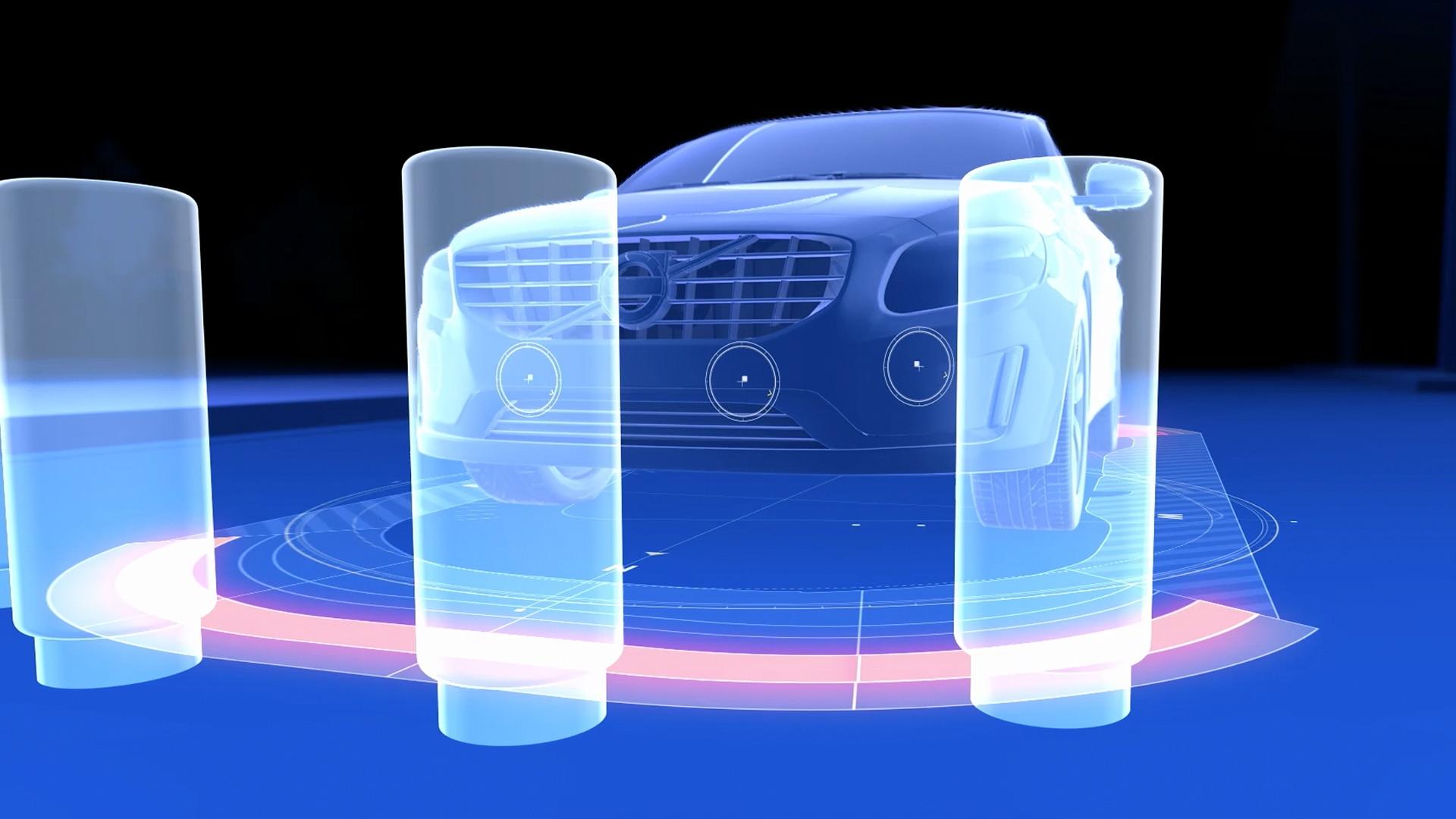 Парковочный радар, передний и задний