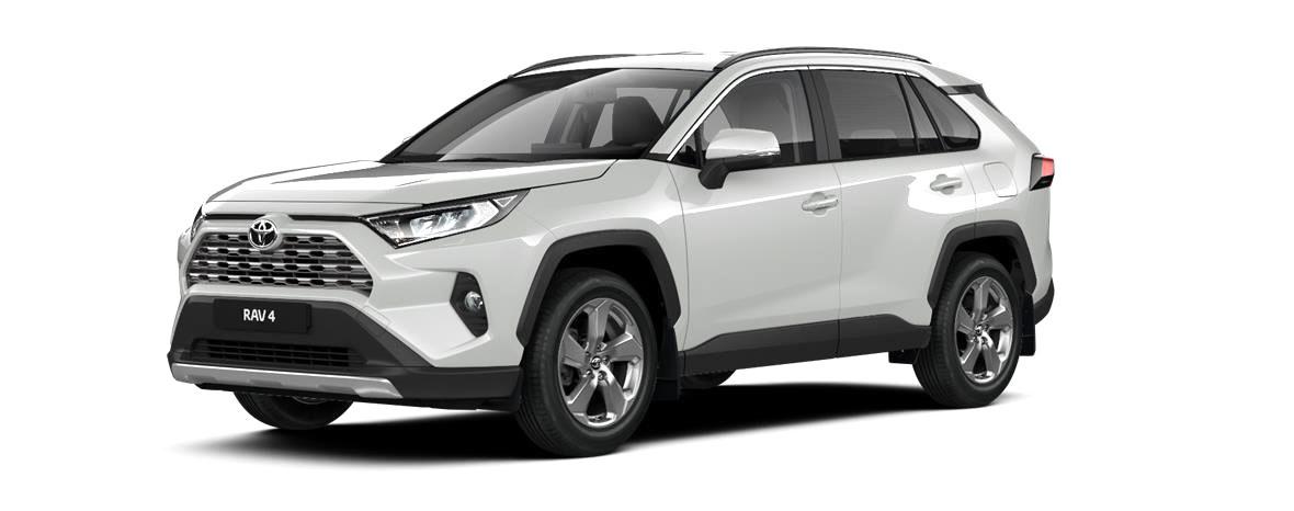 Toyota RAV4 Комфорт 2020 - комплектация и фото: Вариатор коробка передач, бензиновый двигатель, цвет: Белый, перламутр у официальных дилеров 81356