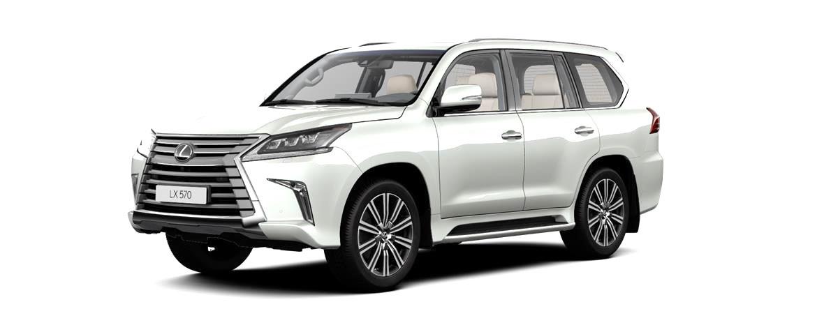 Lexus LX Внедорожник (Luxury 21+)