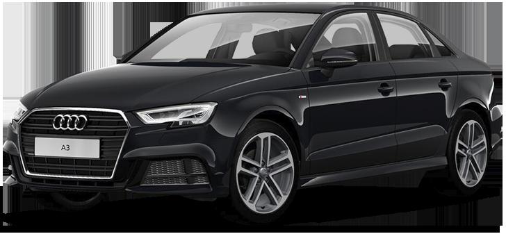 Audi A3 35 TFSI S tronic 2020 - комплектация и фото: Робот коробка передач, бензиновый двигатель, цвет: Чёрный, металлик (Mythos Black) у официальных дилеров в Москве 66915