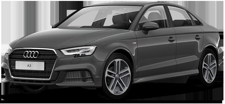 Audi A3 35 TFSI S tronic 2020 - комплектация и фото: Робот коробка передач, бензиновый двигатель, цвет: Серый, металлик (Nano grey) у официальных дилеров в Москве 7758