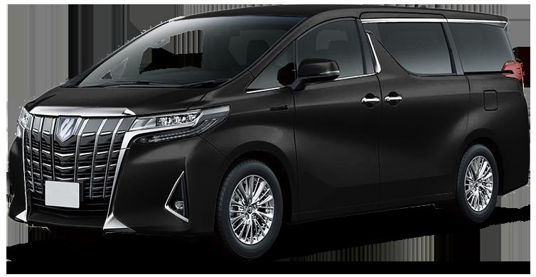 Toyota Alphard минивэн (Luxe)